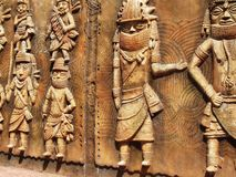 Indian fine art. Stone wall carving stock images