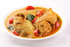 Indian Fish curry. Stock Photo