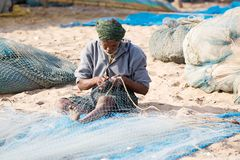 Indian fisherman Royalty Free Stock Images