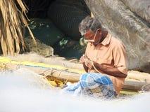 Indian fisherman Royalty Free Stock Photo