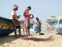 Indian fisherman Stock Photos