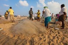 Indian fisherman Royalty Free Stock Images