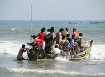 Indian fishermen Royalty Free Stock Photos