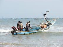 Indian fishermen Royalty Free Stock Image