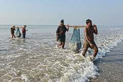 Indian Fishermen Stock Photos