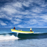 Indian fishermen in Kerala, South India Royalty Free Stock Photos