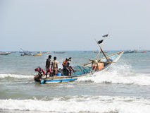 Indian fishermen from Orissa State Royalty Free Stock Photos