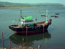 Indian fishing boat Royalty Free Stock Image