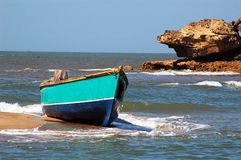 Indian Fishing Boat Stock Photo