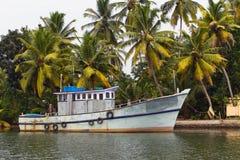 Indian fishing-boat Royalty Free Stock Image