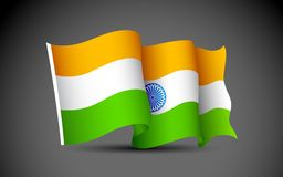 Indian Flag Stock Photos
