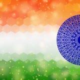 Indian flag background Royalty Free Stock Image