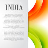 Indian flag background. Design with space for your text Stock Photos