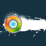 Indian flag background. Design with space for your text Stock Image