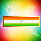 Indian flag background Stock Photo