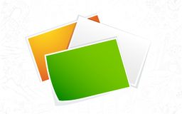 Indian Flag Color Blank Photo Royalty Free Stock Image