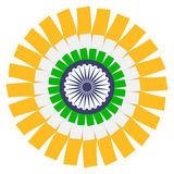 Indian Flag Concept. Vector EPS8. Indian Flag Concept. Vector EPS 8 Royalty Free Stock Photography