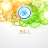 Indian flag design Royalty Free Stock Image