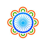 Indian flag design concept illustration vector Stock Photo