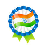 Indian flag design Stock Photos