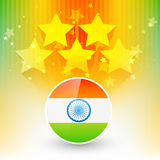 Indian flag design Stock Image