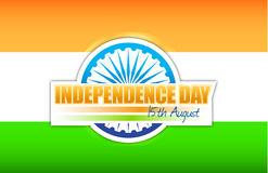 Indian flag. independence day design. Illustration graphic Stock Photo