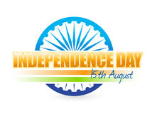 Indian flag. independence day design Stock Photos