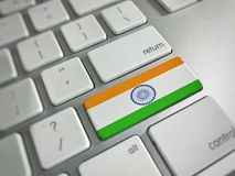 Indian flag Royalty Free Stock Image