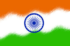 Indian Flag Stock Photo