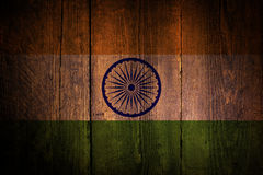 Indian flag. Stock Image
