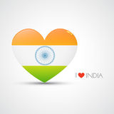Indian flag vector Stock Image