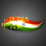 Indian flag vector Stock Images