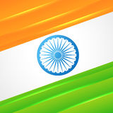 Indian flag vector design Royalty Free Stock Photos
