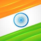 Indian flag vector design Royalty Free Stock Photos