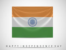 Indian Flag waving background Stock Images