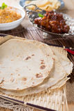 Indian flat-bread Royalty Free Stock Image