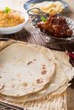 Indian flat-bread Stock Photos