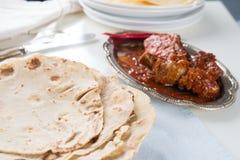 Indian flat-bread Stock Photo