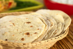 Indian Flatbread Called Chapati Stock Image