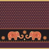 Indian Floral decor Royalty Free Stock Photography