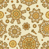 Indian floral pattern Stock Photography