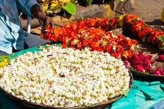 Indian Flower Garland Stock Image
