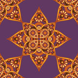 Indian flower pattern Stock Photo