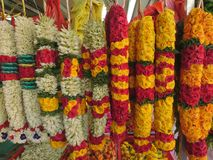 Indian flowers offerings Stock Photos