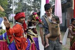Indian Folk Artist Royalty Free Stock Photo
