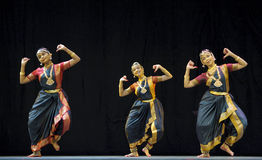 Indian folk dance Royalty Free Stock Photography
