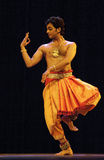 Indian folk dancer Royalty Free Stock Photo