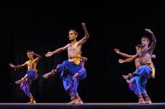 Indian folk dancer Stock Photos
