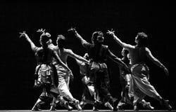 Indian folk dancers Stock Images