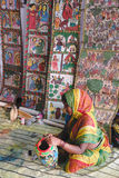 Indian folk Painting Stock Photo